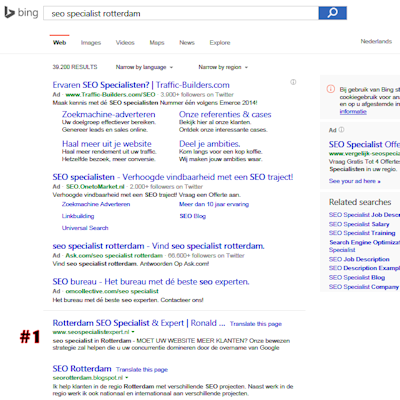 rotterdam seo search results